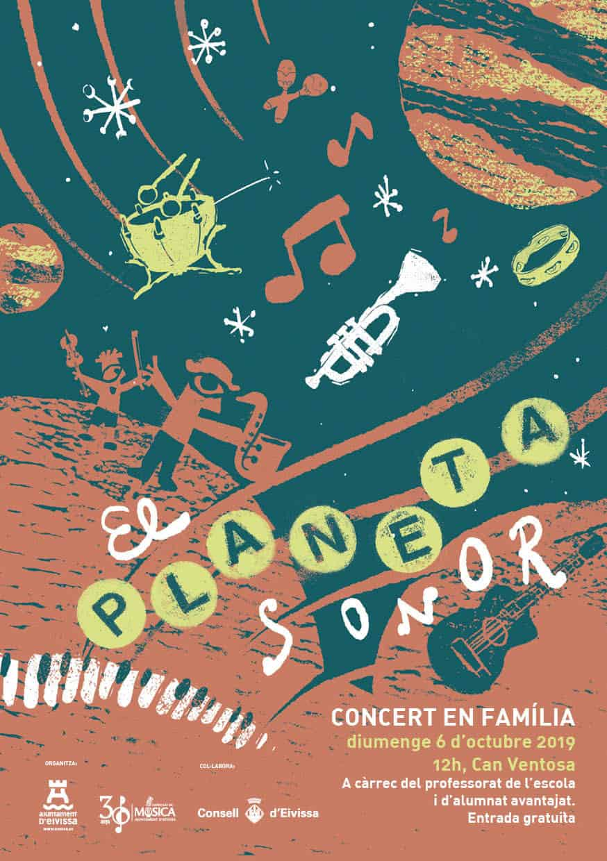 Familienkonzert The Sound Planet in Can Ventosa