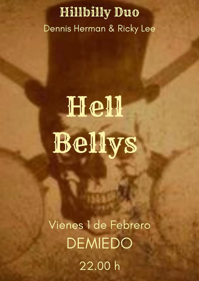 Hell Bellys en concert à Demiedo Ibiza
