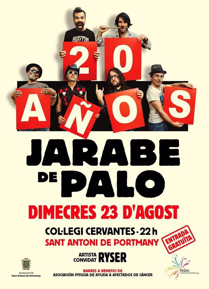 Free Jarabe de Palo Concert in San Antonio