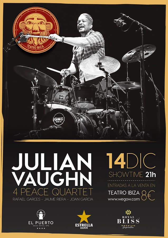 Julian Vaughn Konzert