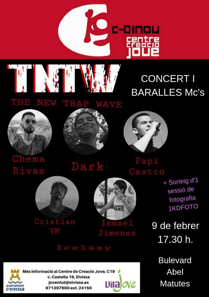 Concert et bataille des MC's samedi à Ibiza
