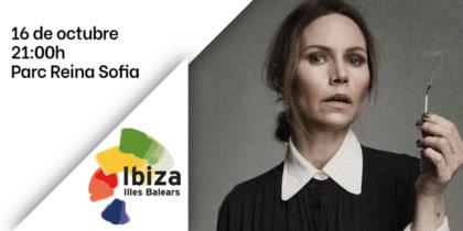 Concierto de Nina Persson y Martin Hederos en el Parque de Reina Sofía Música