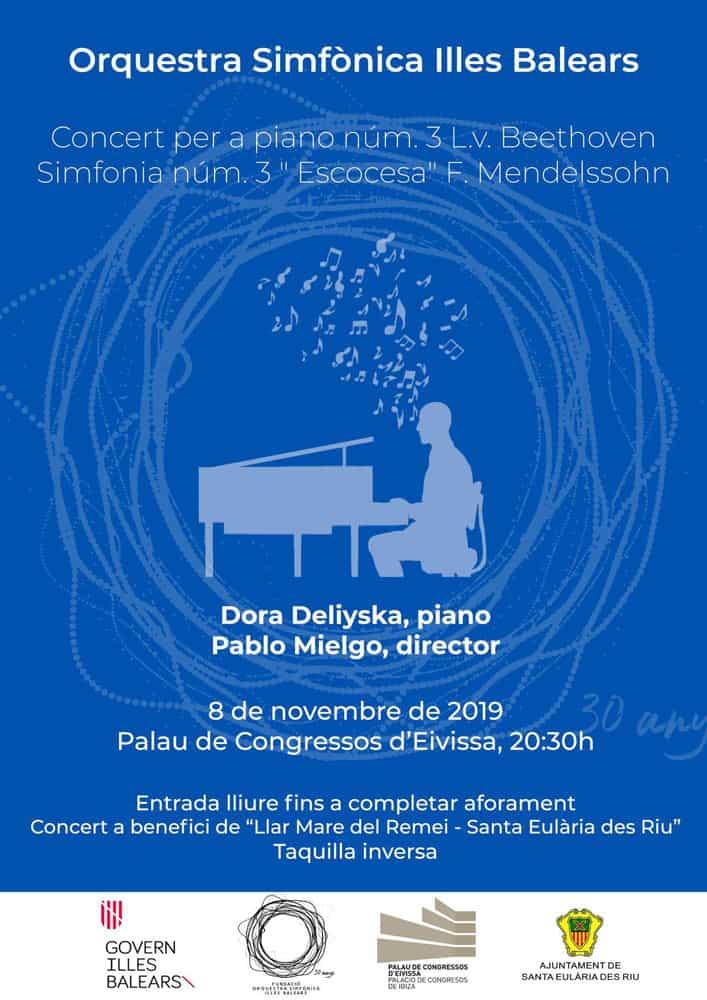 Konzert des Balearic Symphony Orchestra im Konferenzzentrum von Ibiza