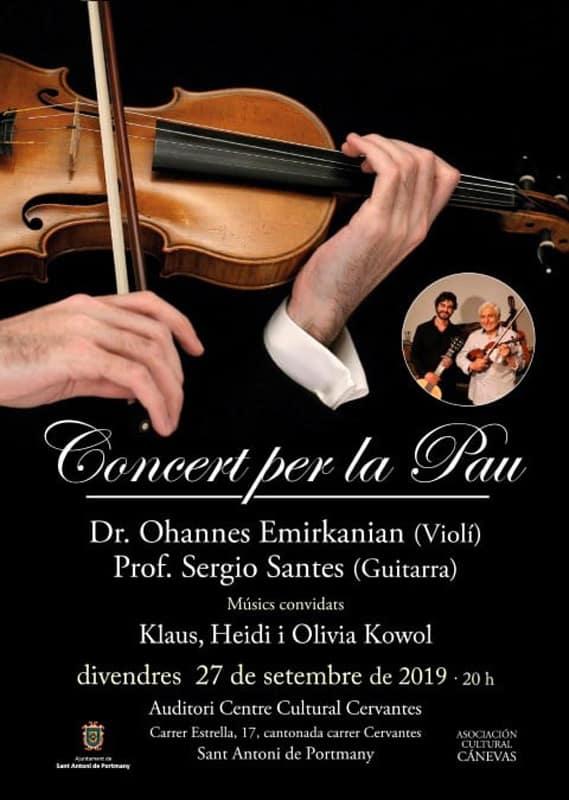 Концерт за мир в Сан-Антонио