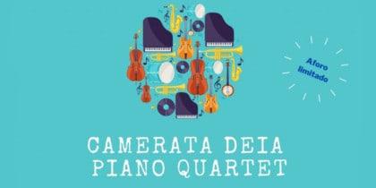 Konzert des Camerata Deià Piano Quartet zugunsten von Apneef Música