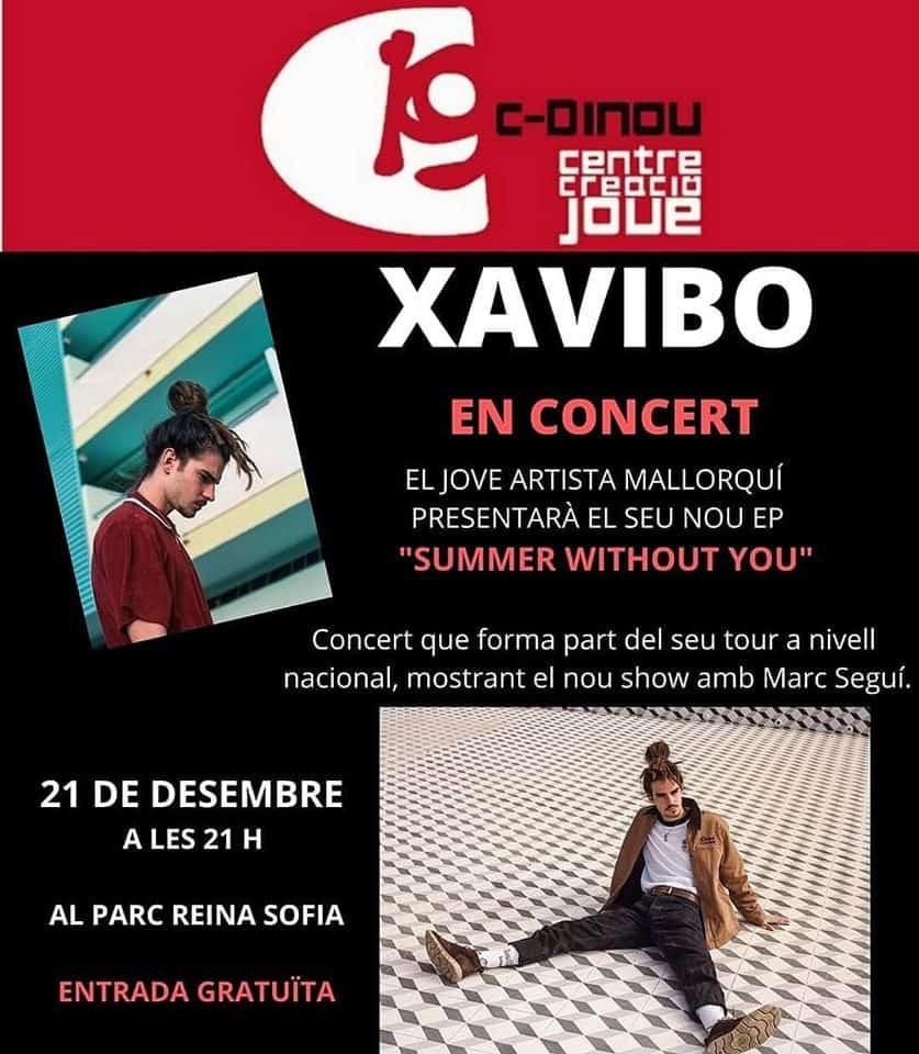 Kostenloses Xavibo Konzert im Reina Sofía Park