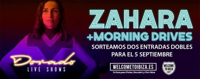 Gagnez votre billet pour Zahara aux concerts Dorado Live de Santos Ibiza (Terminé)