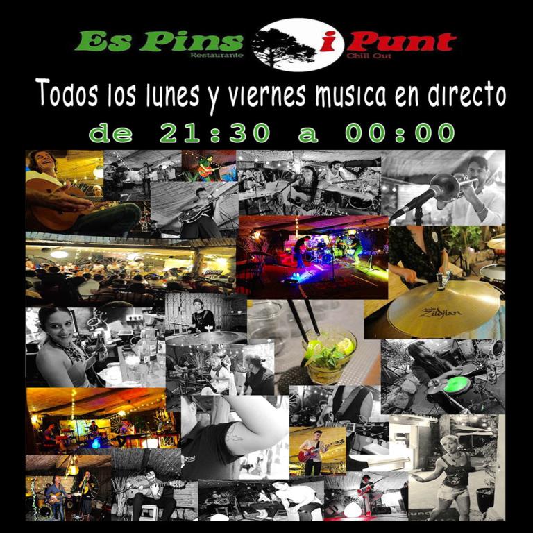 Disfruta las noches de verano: Conciertos en Es Pins Ibiza cada lunes y viernes