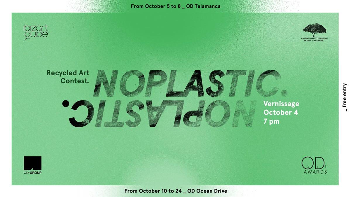 Exposition du concours artistique No Plastic à OD Talamanca et OD Ocean Drive Ibiza