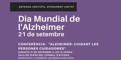 Conferència pel Dia Mundial de l'Alzheimer a Eivissa Activitats