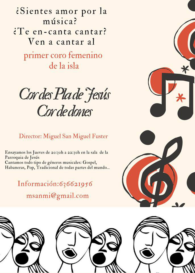 You like to sing? Participate in the First Female Choir of Ibiza