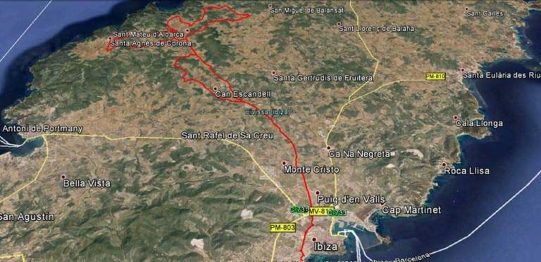 Let op: verkeersbeperkingen op zondag op Ibiza