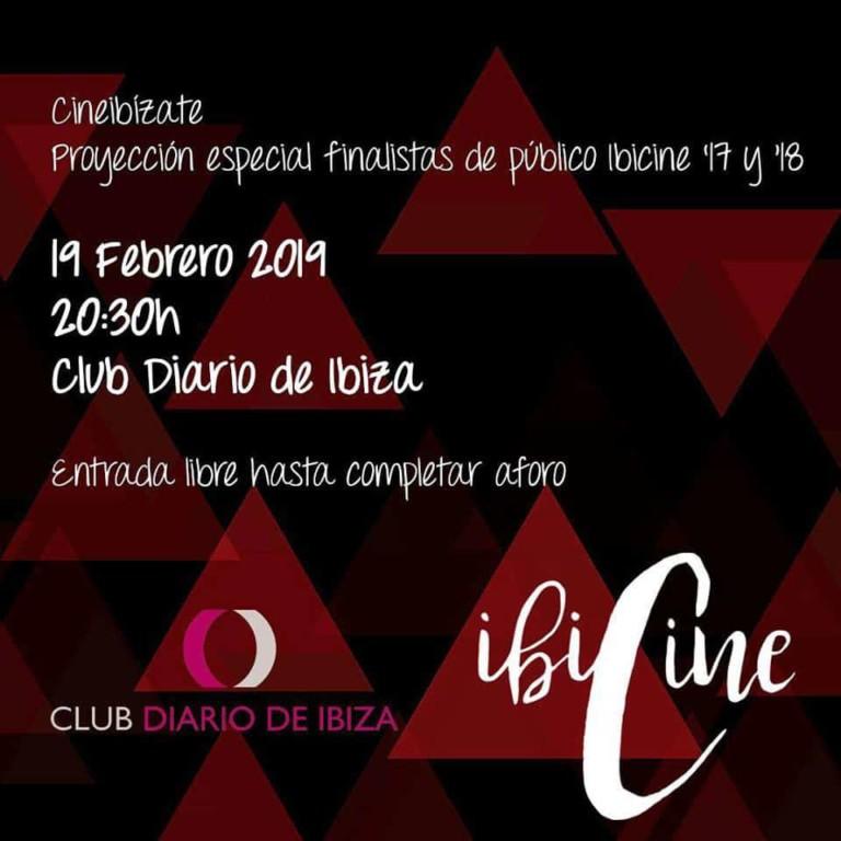 New pass of shorts of Ibicine in the Club Diario de Ibiza
