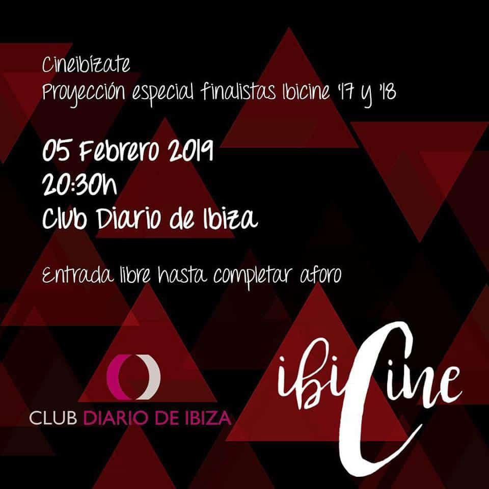 The Ibicine shorts at the Club Diario de Ibiza