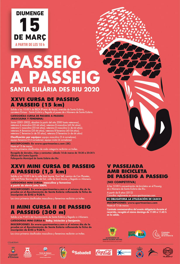 POSTPONED: XXVI Course from Passeig to Passeig