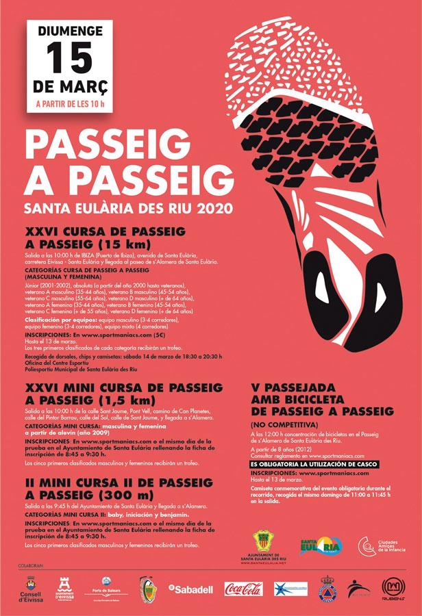APLAZADA: XXVI Cursa de Passeig a Passeig