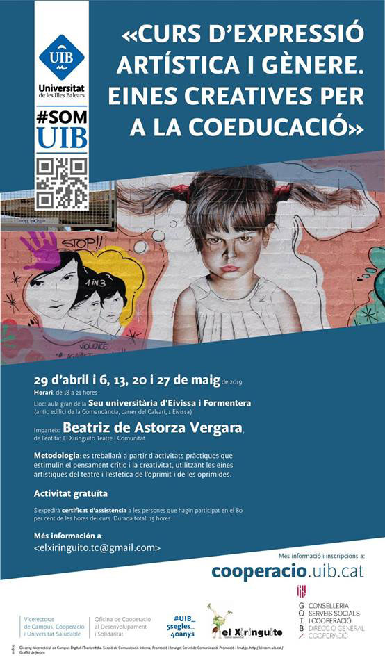 Course of artistic expression and gender in the UIB of Ibiza