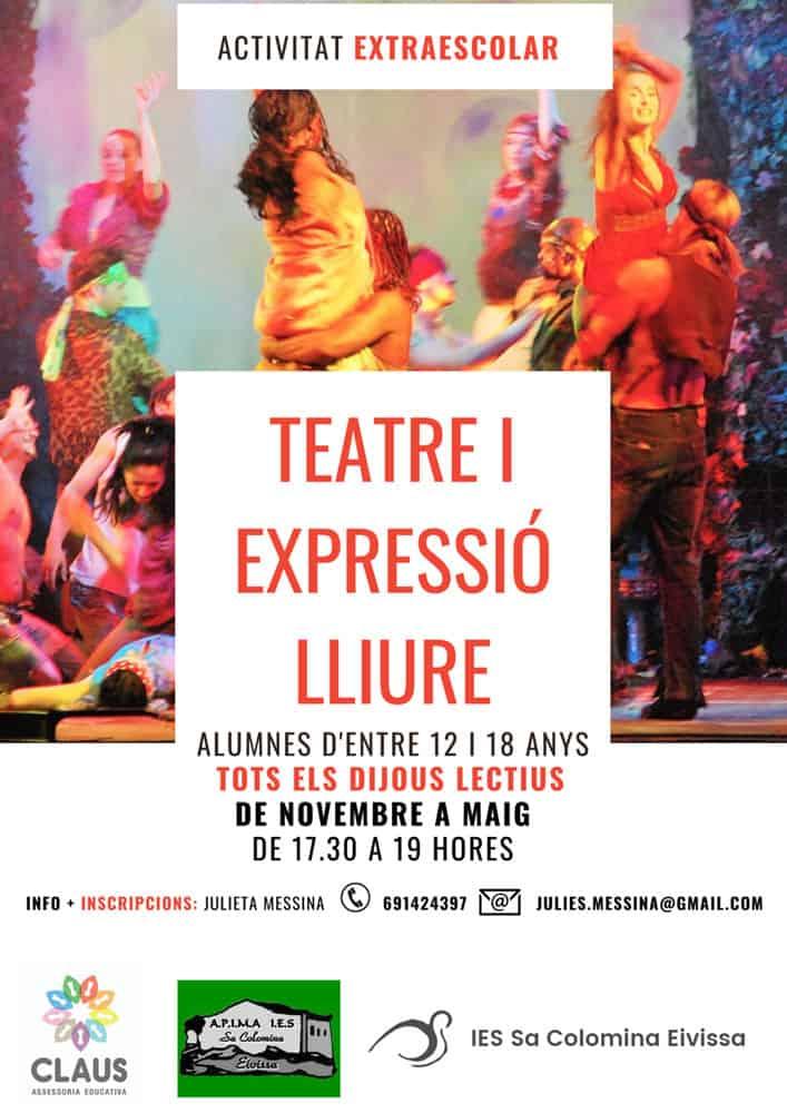 Clases de Teatro y Expresión Libre para Jóvenes en Ibiza