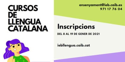 Catalan courses at the Institut d'Estudis Baleàrics Activities