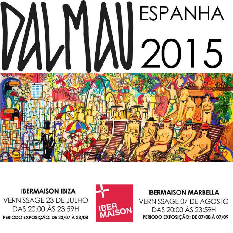 Ausstellung von David Dalmau im Ibermaison Ibiza