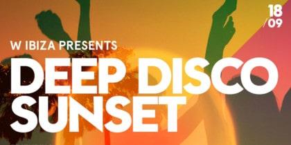 Deep Disco Sunset au Glow Bar au W Ibiza Fiestas