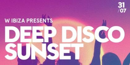 Deep Disco Sunset in der Glow Bar im W Ibiza Fiestas