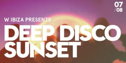 Deep Disco Sunset en Glow Bar de W Ibiza Fiestas