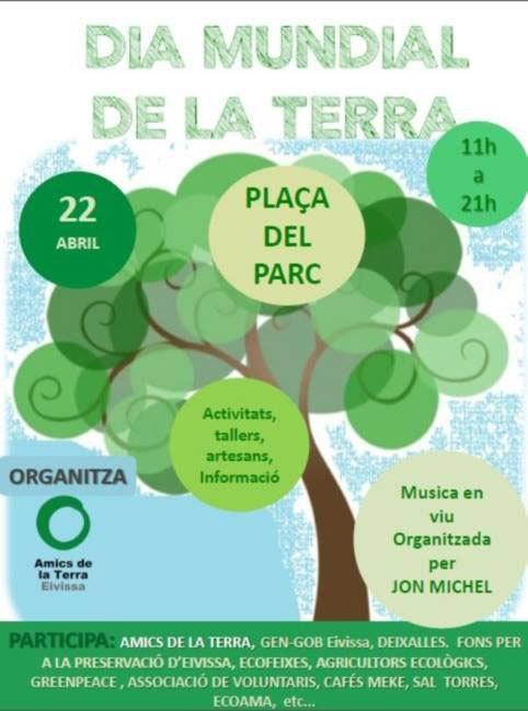 Earth Day: vier het in Plaza del Parque op Ibiza