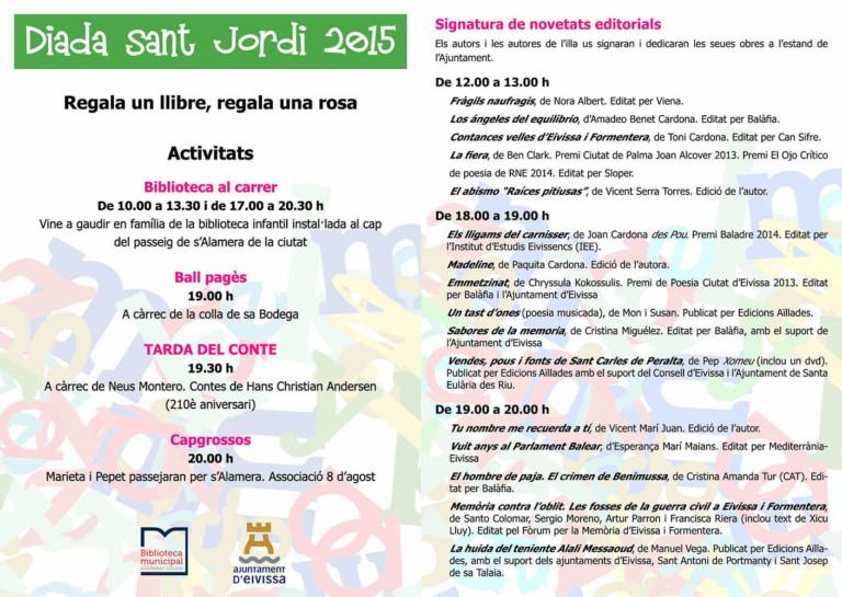 Sant Jordi's dag op Ibiza