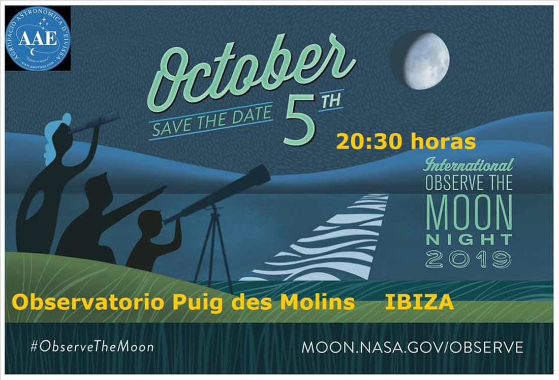 Nuit internationale d'observation de la lune à Ibiza