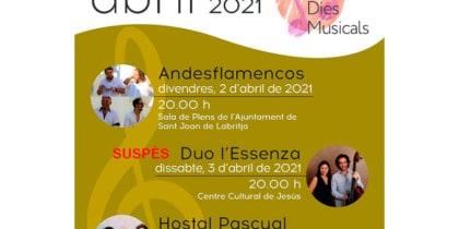MUSICAL DAYS APRIL CONSELL IBIZA
