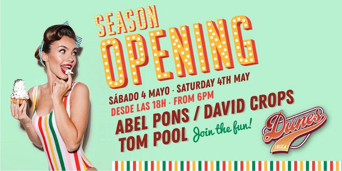 Dunes Ibiza celebra su Season Opening este sábado