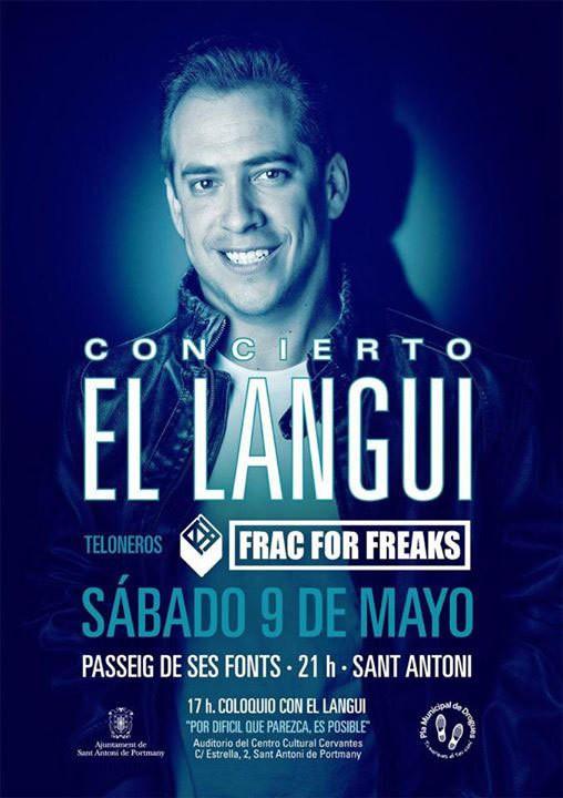 Concerto di El Langui questo sabato a San Antonio
