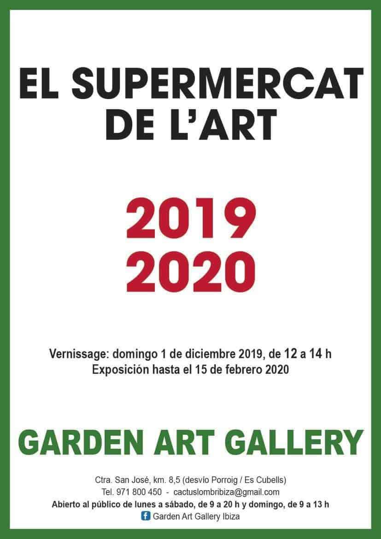 Torna l'art aquest Nadal amb el Supermercat de l'Art a Garden Art Gallery Eivissa