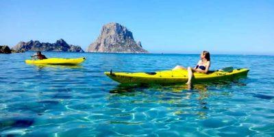 Kayak à Ibiza
