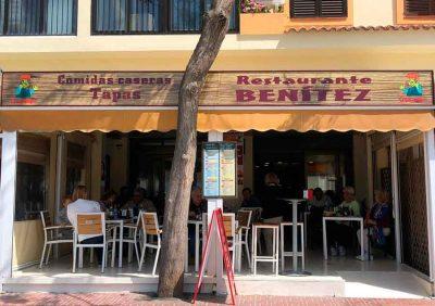 Restaurants> Menu Del Día-Restaurant Benítez-Ibiza