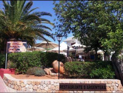 Restaurantes>Menu Del Día-S'Argentera-Ibiza