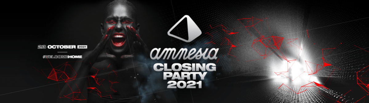 amnèsia Eivissa closing party 2021