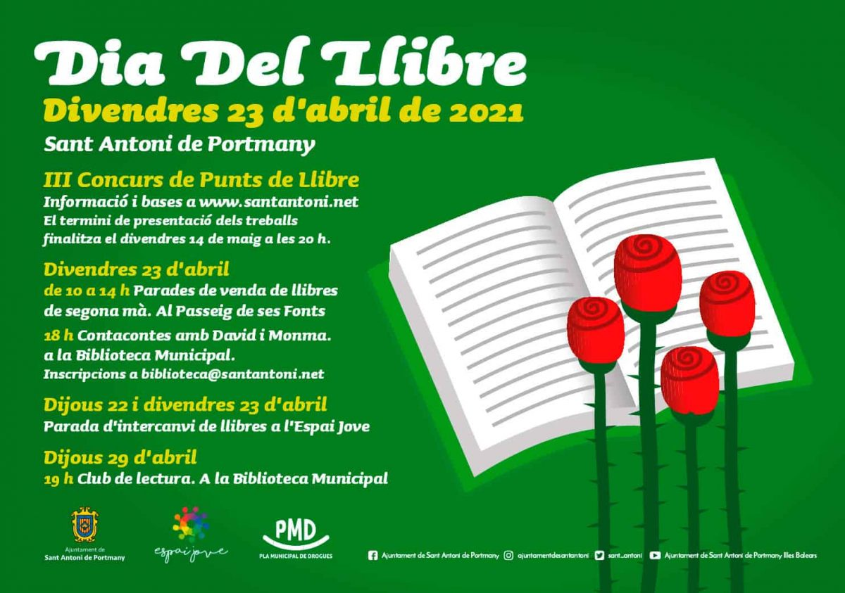 saint-jordi-day-of-the-book-san-antonio-ibiza-welcometoibiza