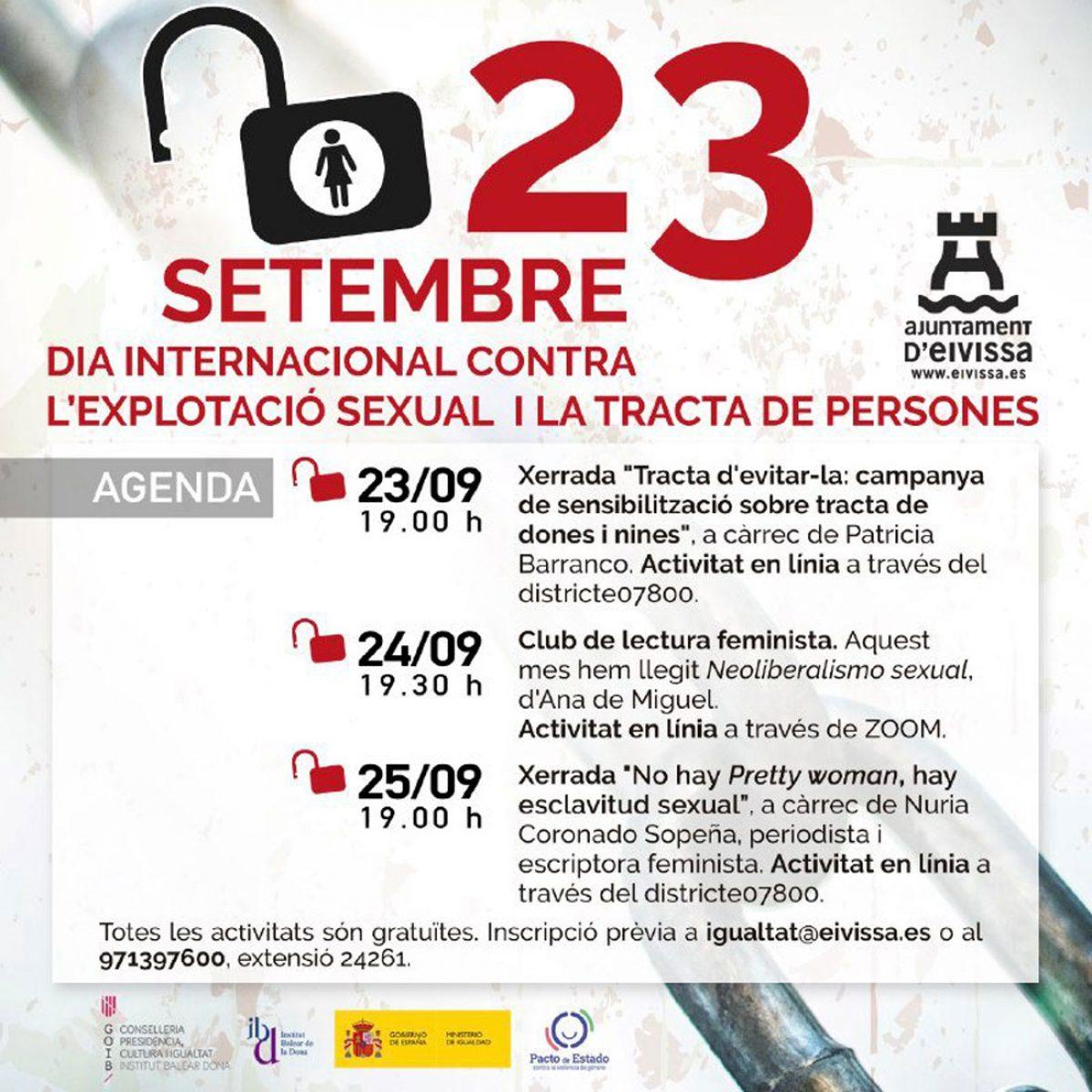 Международный день борьбы с сексуальной эксплуатацией, Ибица, 2020, welcometoibiza