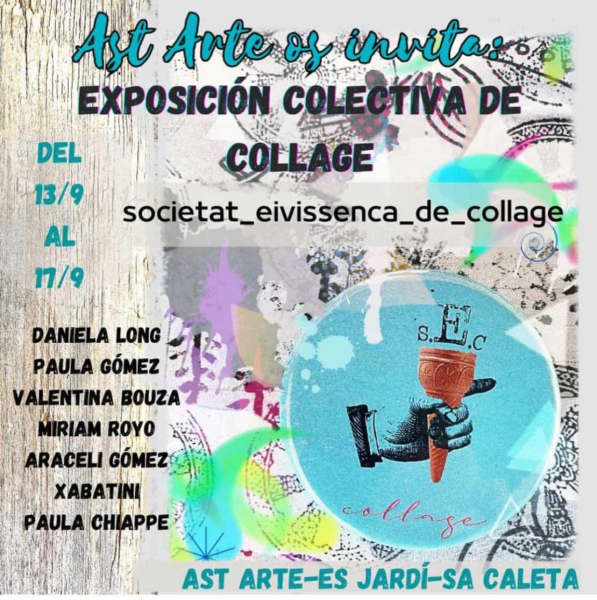 exposicio-col·lectiva-collage-Astarte-Eivissa-2021-welcometoibiza