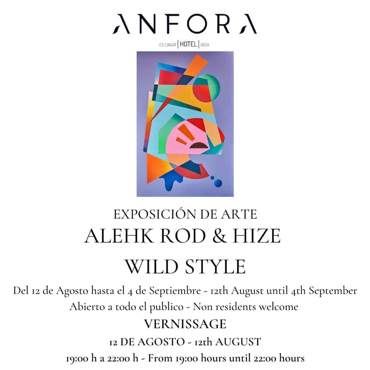hotel-anfora-ibiza-2021-tentoonstelling-alehk-rod-hize-wild-style-welcometoibiza