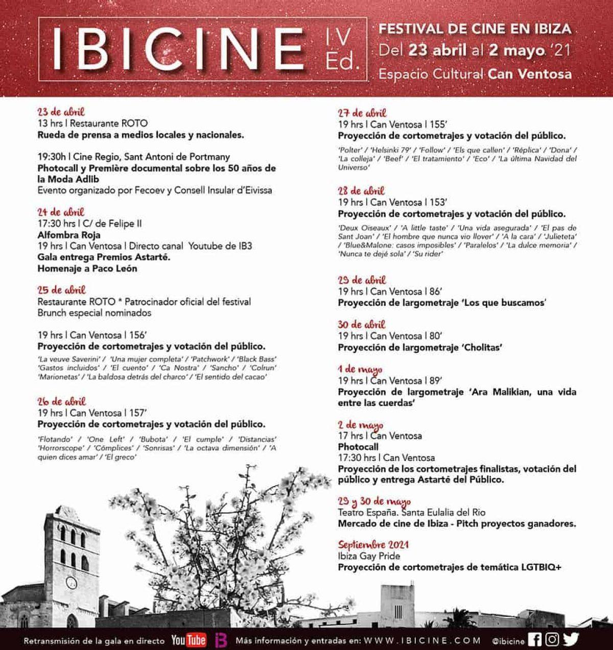 ibicine festival Eivissa 2021