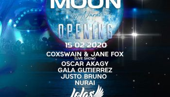 Magic at the Opening of The Moon by Nurai at Lola's Ibiza