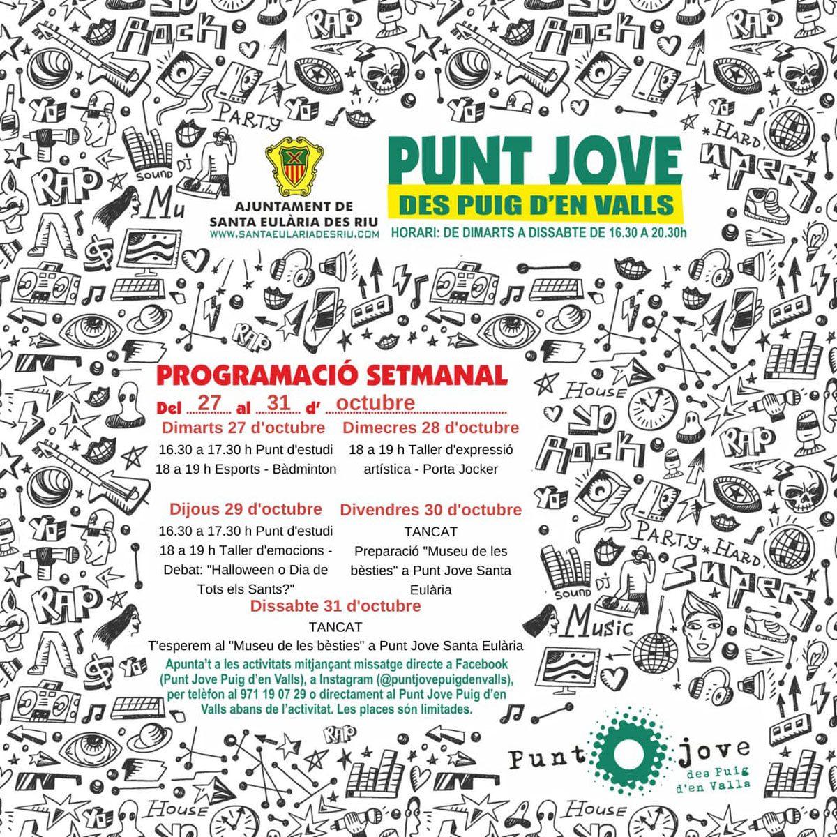punt-jove-puig-den-valls-ibiza-2020-program-halloween-welcometoibiza