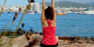Ioga a l'aire lliure cada diumenge a Sa Punta des Molí
