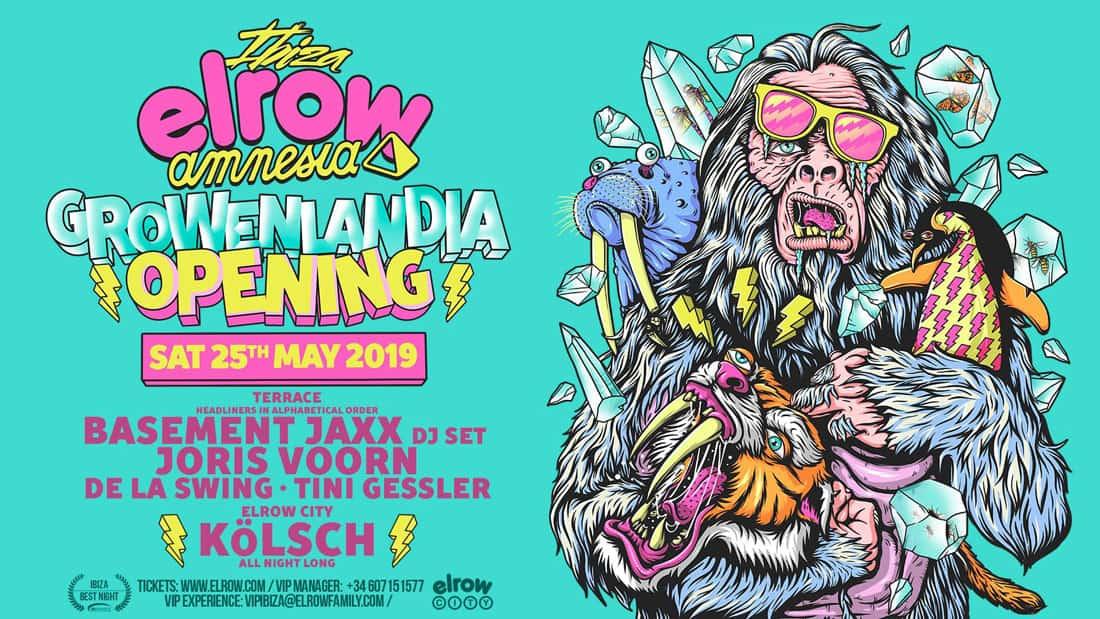 Elrow Ibiza Opening Party en Amnesia Ibiza
