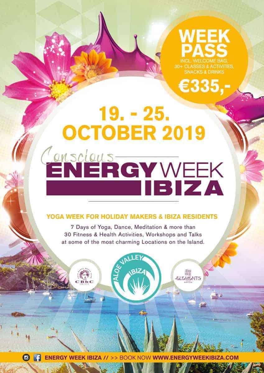 Energy Week Ibiza: Eine Woche Yoga und gesunde Aktivitäten