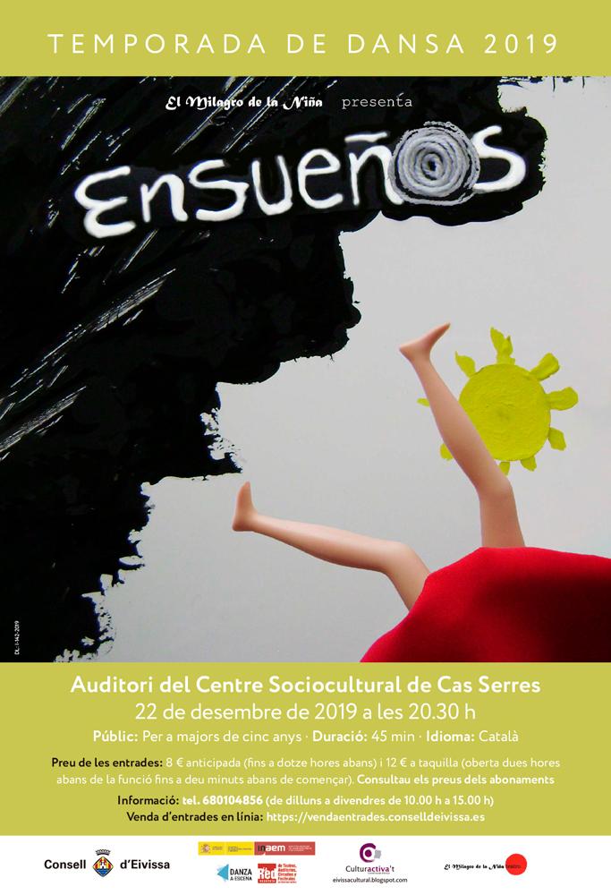 Ensueños: Letzte Show der Tanzsaison 2019 in Cas Serres Ibiza