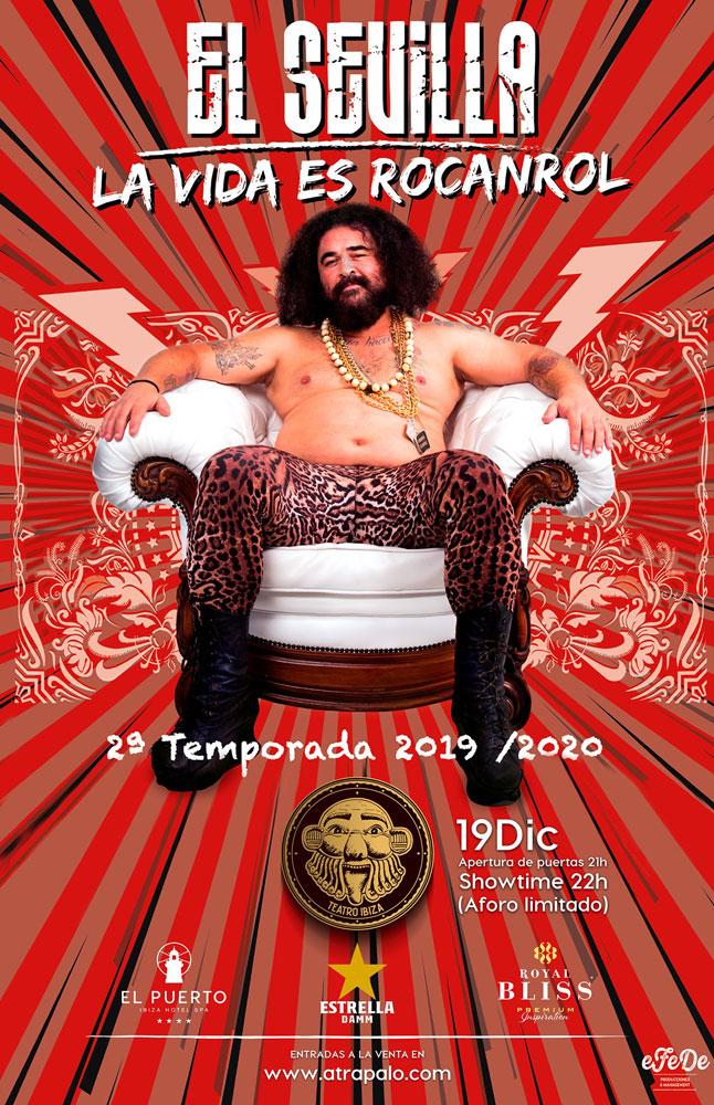 El Sevilla estrena el seu espectacle La Vida és Rocanrol en Teatre Eivissa